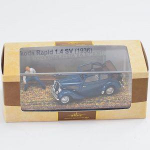 Dioráma – KLUB – Škoda Rapid 1.4 SV (1936) Cesta okolo sveta za 97 dní