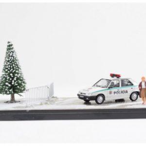 """Diorama """"Policia SR Vianoce 2020"""""""